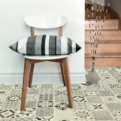 Tarkett Starfloor Click Retro Black & White