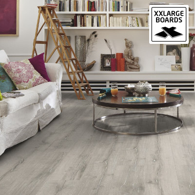 Laminatgolv Grey White Midsummer Oak